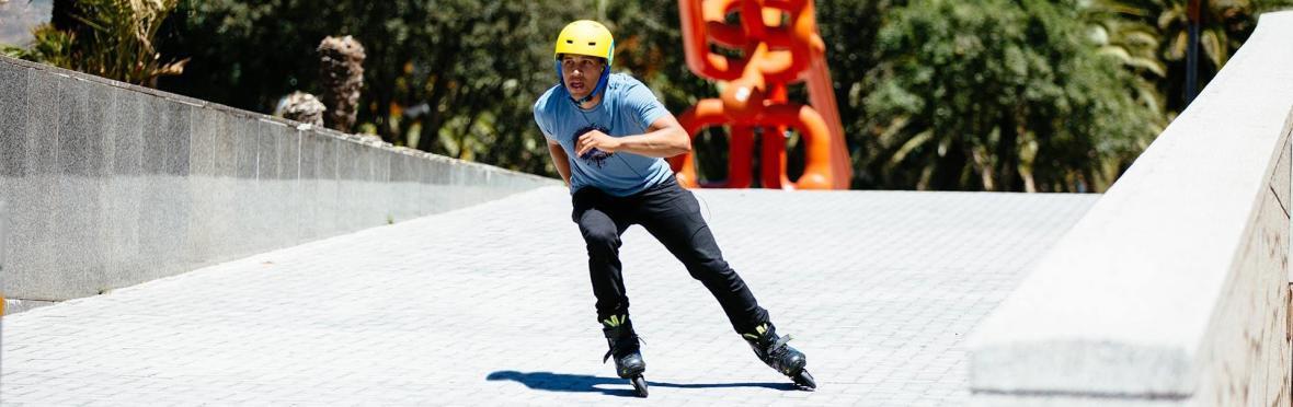 直排輪   10 個安全溜直排輪的技巧