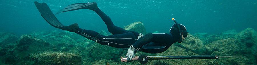 L'isolation thermique d'une combinaison de chasse sous-marine