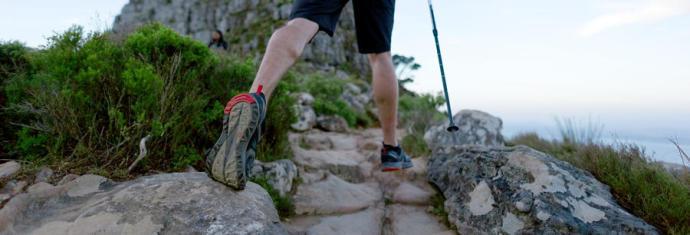 Wandelen: blijf op de wandelpaden