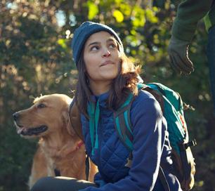 Wandelen: hou honden aan de leiband