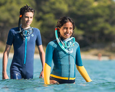 Choisir un équipement de snorkeling adapté aux enfants