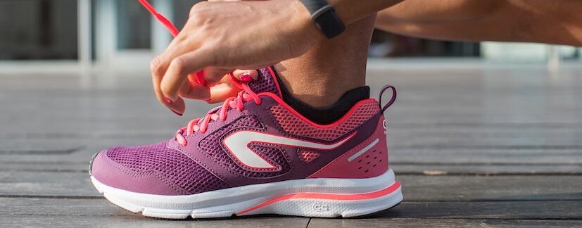 calçado de corrida