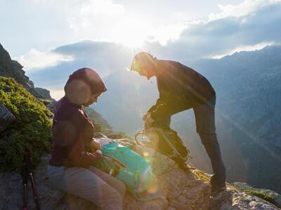 Prepare your hike - weather photo