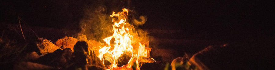 camp fires: how to make them