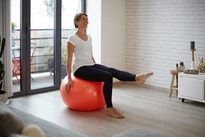 gymball pilates domyos