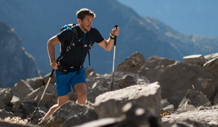 Utmana dig själv med fast hiking