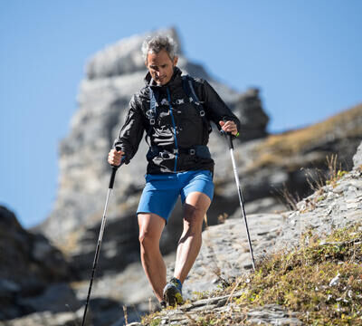 Speed up your hikes with Fast Hiking