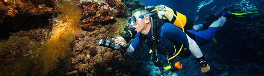 A manutenção do seu fato de mergulho