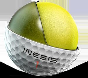balle de golf 900 Inesis Décathlon pour joueurs experts