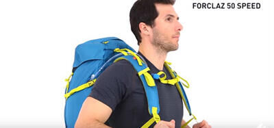 How to spread the load in your backpack?