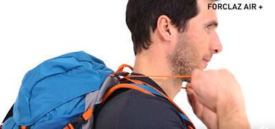 Como regular a mochila - ombros
