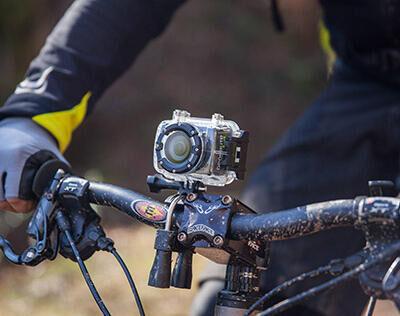Comment fixer votre caméra pour filmer vos sorties VTT ?