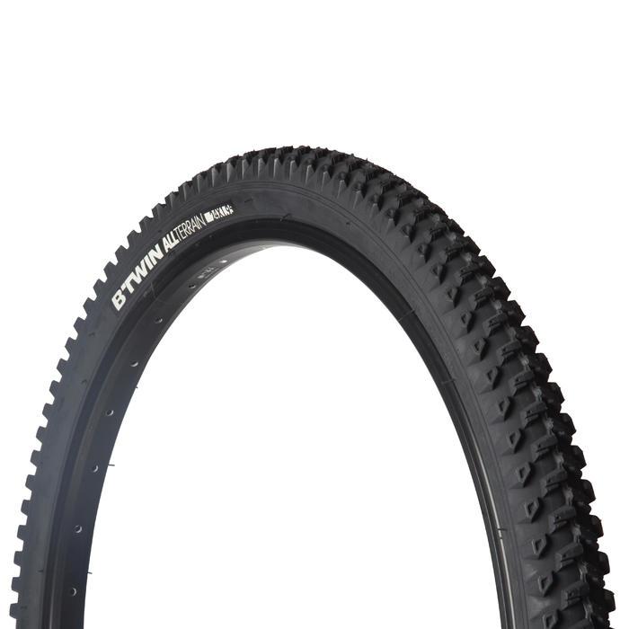 Buitenband mountainbike kind 24x1.95 stijve hieldraden ETRTO 47-507