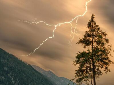 storms danger mountain hiking