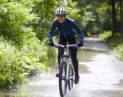 Préparez votre vélo avant l'arrivée du mauvais temps