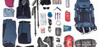 Matos trek montagne équipement complet