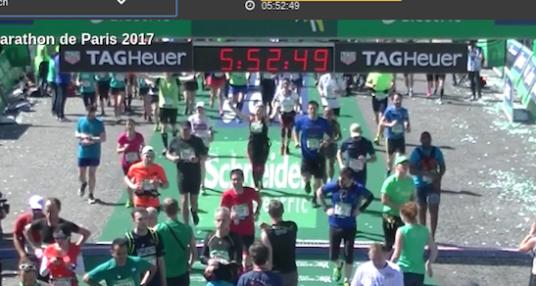 Récit Marathon de Paris