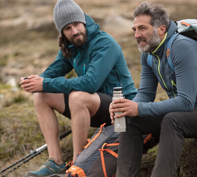 How do you stay hydrated when out hiking?