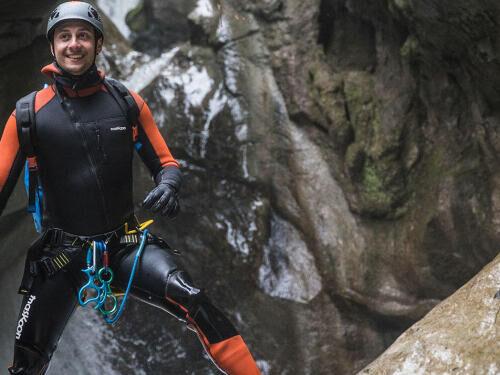 Les bienfaits du canyoning