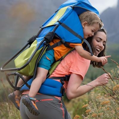 Comment porter son bébé en randonnée ?