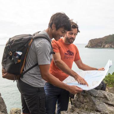 Découvrez la randonnée - carte