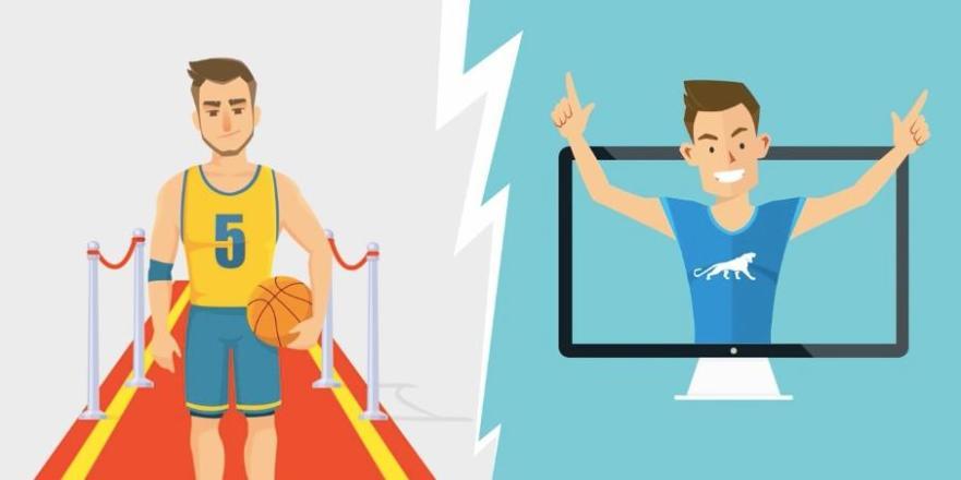 e-sport et sport