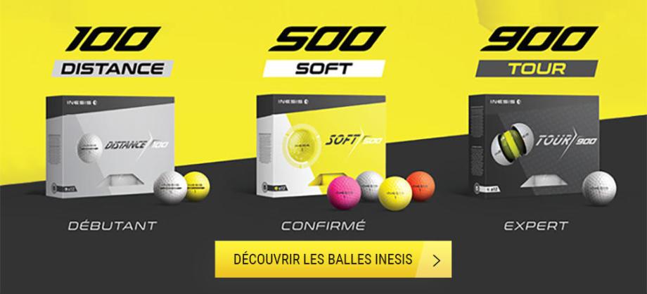 comment choisir une balle de golf ? Inesis Decathlon