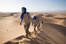 Trekking désert évasion