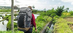 Trek voyage sac à dos