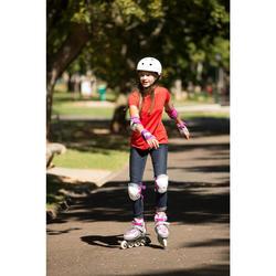 Skaterhelm Play 5 Inlineskates Skateboard Scooter weiß