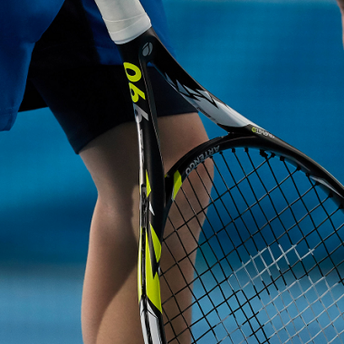 Stijfheid-tennisracket