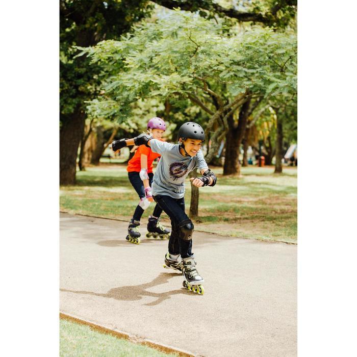 Skaterhelm Play 5 Inliner Skateboard Scooter schwarz