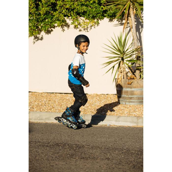 Set 3 beschermers Play voor kinderen, voor skeeleren, skateboard, step, zwart