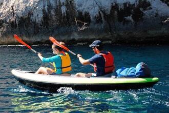 Mes affaires sont bien protégées sur mon kayak