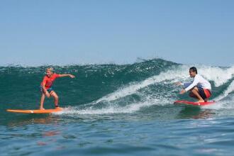 De voorrangsregels bij het surfen en bodyboarden