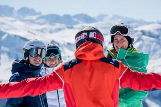 Le vocabulaire sur les pistes de ski