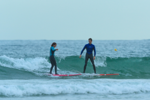 Fare surf d'inverno