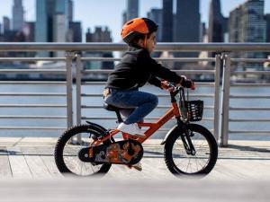 initation au vélo pour les enfants