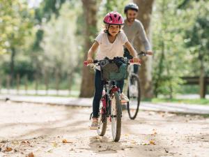 balade vélo en famille