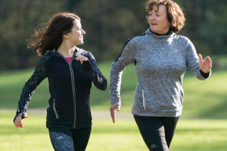 Fitness and Nordic walking—how to develop good habits
