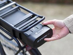 mise en marche de la batterie de vélo éléctrique