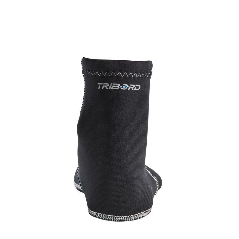 Calcetines neoprén 2 mm para aletas de bodyboard