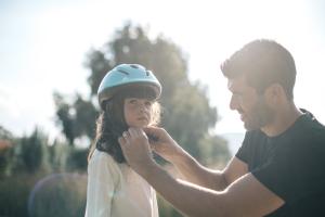 kind beschermen op de fiets