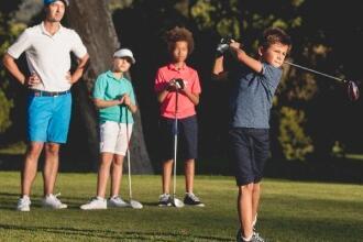 criança golfe Inesis