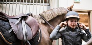 eerste paardrijlessen
