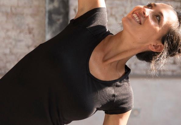 vrouw fitness Domyos