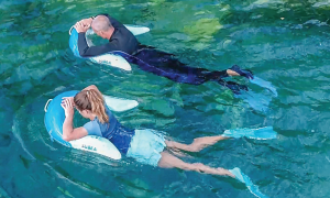 Olu snorkeling subea