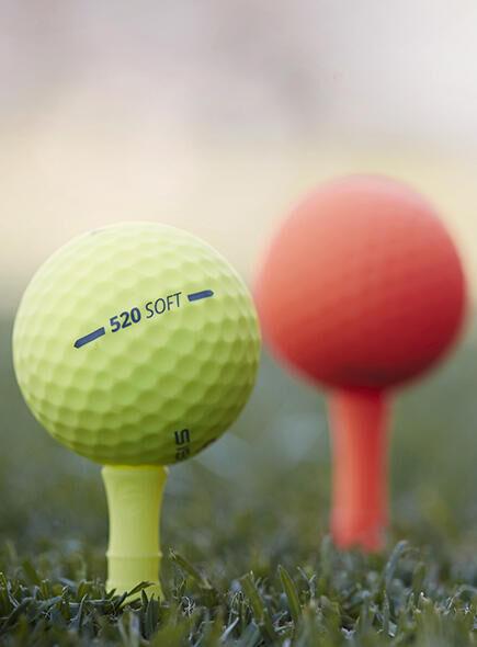 ballen golf golfballen tee tees Inesis Decathlon