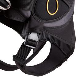 Pantalón arnés windsurf negro