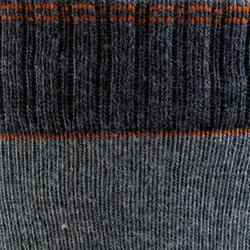 Kousen Fit heren skaten grijs/oranje - 143841